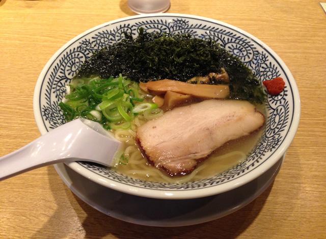 磯海苔ラーメン(塩)