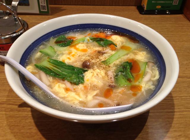 酸辣湯麺(さんらーたんめん) 8番らーめん 福井駅店