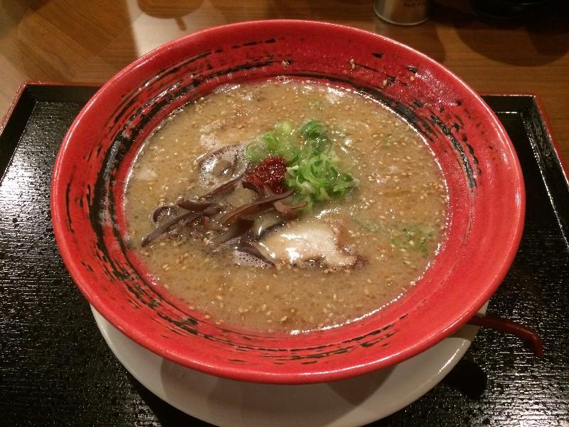 スープ 博多の虎 とんこつラーメン